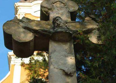 Gyomaendrőd, Templomkerti Kőkereszt restaurálása
