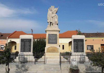 Mosonszolnok I. világháborús emlékmű restaurálás