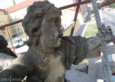 Zirc, Szent Imre szoborcsoport restaurálása