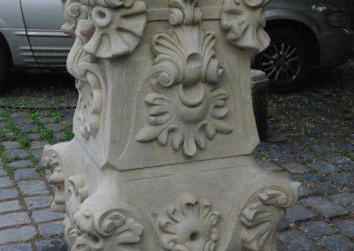 Óbuda Nepomuki Szt. János szobor restaurálása