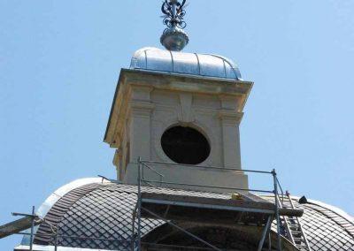 Tura Kastély Pálmaház, Laterna Homlokzat felújítás