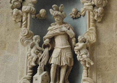 Budapest Belvárosi Főplébánia Templom  gótikus és barokk kőplasztikák restaurálása